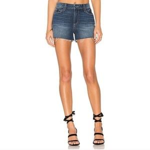 PAIGE margot orna destructed high-rise shorts
